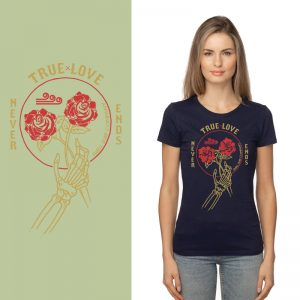 Women's Tshirt - Ocean - True Love