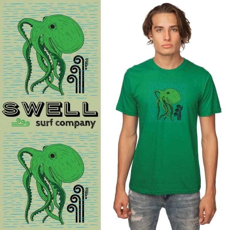 Men's Tshirt - Kelly - Octo