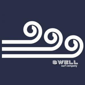 Men's - Navy - Swell Logo