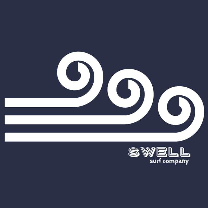 Men's - Navy - Swell Logo