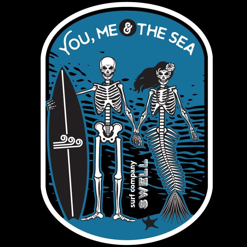 Men's - Black - You, Me & the Sea